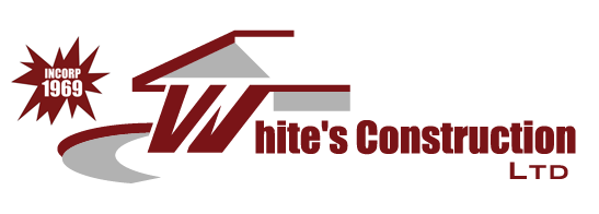 White Construction Logo